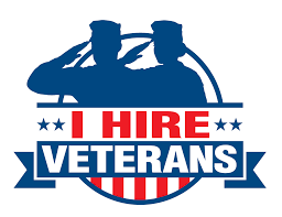 WE HIRE VETERANS FIRST